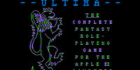 Computer Ports of Ultima I