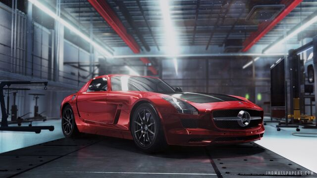 File:Mercedes benz sls amg stock.jpg