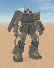 MS-06D Desert Type B Zaku 2