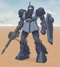 MS-05B Zaku 1 (Ramba Ral)