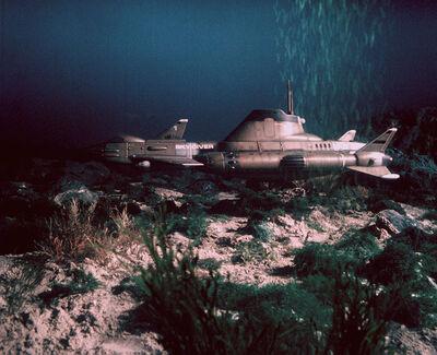 SkyDiver underwater