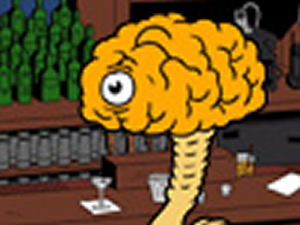 Great Brain in bar