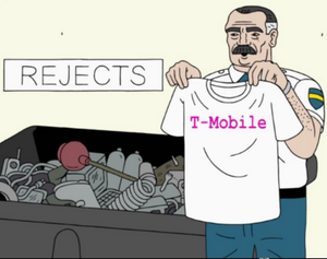 T-Mobile T-shirt