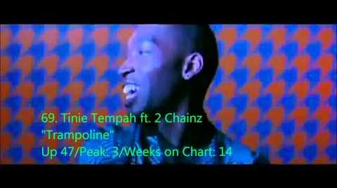 Official UK Singles Chart Top 100 - Week ending 16th November 2013 - 51 to 100