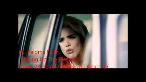 Official UK Singles Chart Top 100 - Week ending 22nd September 2012 - 51 to 100