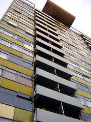 Tower block on the Golden Lane Estate