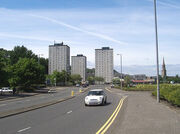 Port glasgow tower blocks
