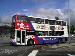 West midlands travel bus 26l07