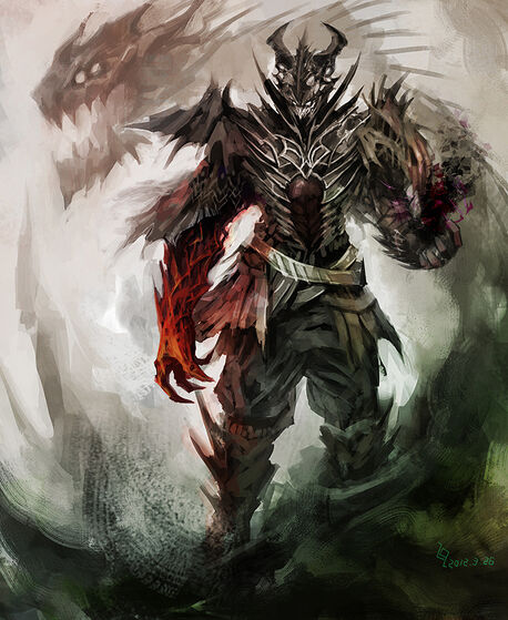 Demon warlock by maclq-d4u7a5v