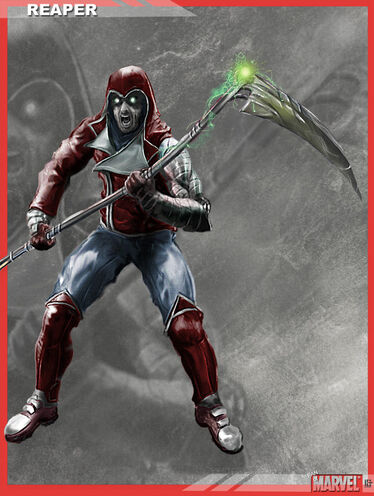 Reaper (MCU) by dbvinal