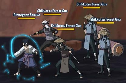 Sage Heirloom Shikkotsu Forest Fight 2