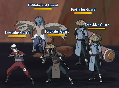 Taboo Jutsu Rescue Sasuke Fight 6 White Coat Cursed Sasuke