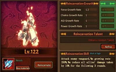 Reincarnation One Ninjutsu Main Female