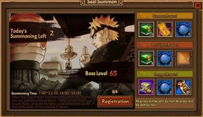 Seal summon