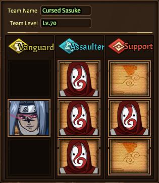 Team Cursed Sasuke H