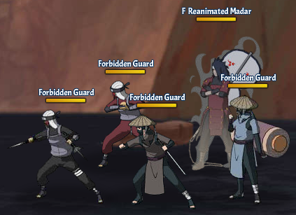 Taboo Jutsu Five Kages Conference Scuffle Fight 6 Reanimated Madara