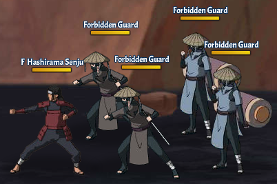 Taboo Jutsu Battle of the Valley of the End Fight 6 Hashirama