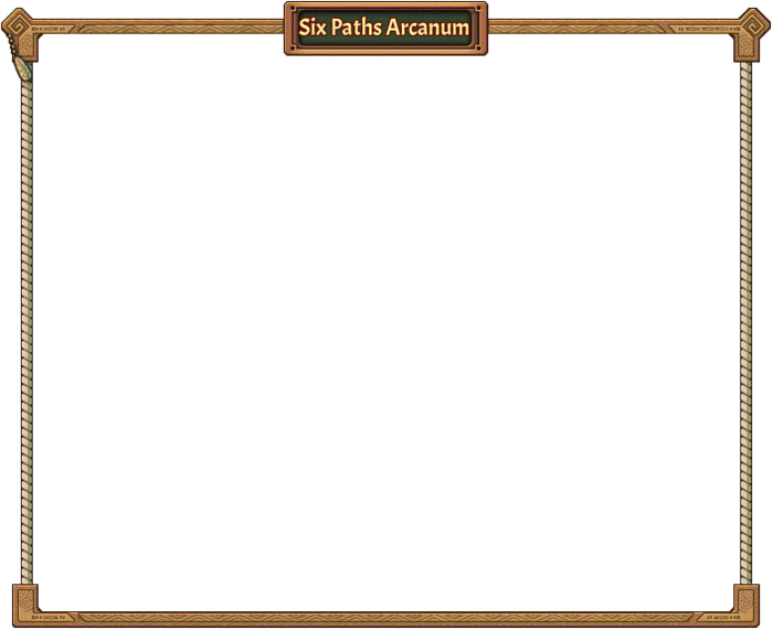Six path Arcanum Frame