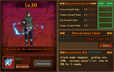 Reincarnation One Asuma