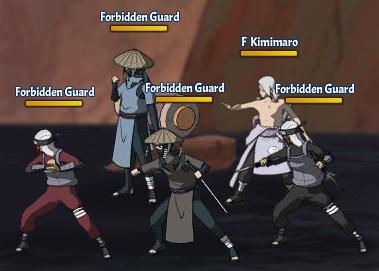 Taboo Jutsu Orochimaru's Attack Fight 3 Kimimaro
