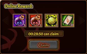 Online Pack 2nd reward 2
