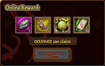 Online Pack 3rd reward 2