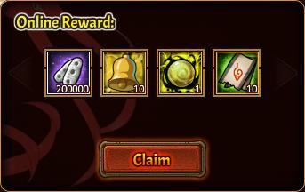 Online Pack 1st reward
