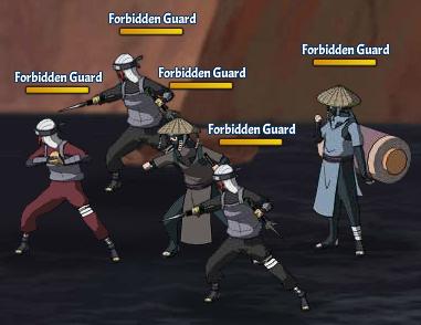 Taboo Jutsu Orochimaru's Attack Fight 5