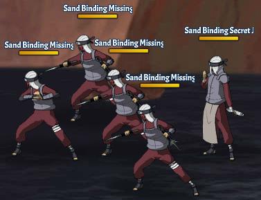 Sand Binding Land Fight 16