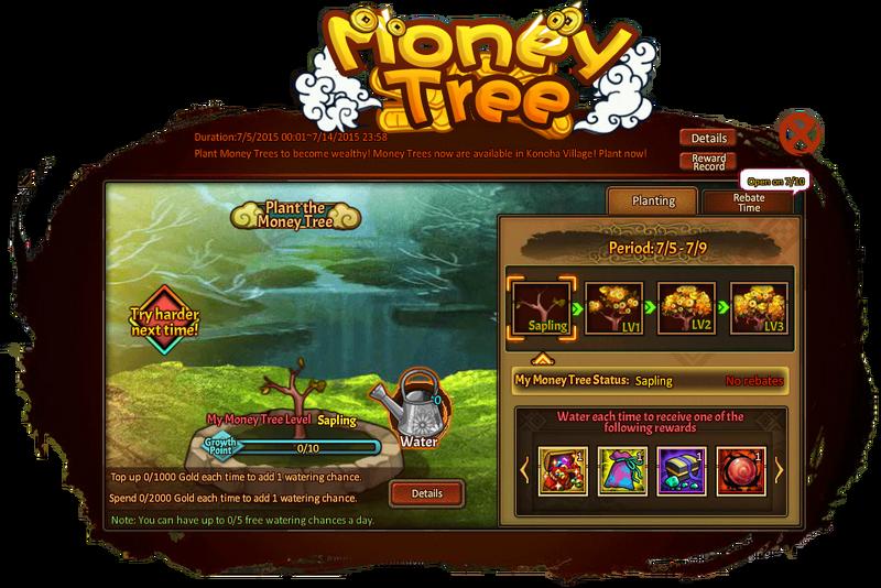 Money Tree Grid