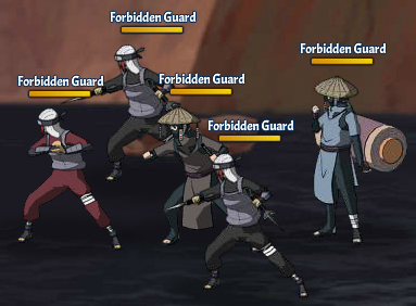 Taboo Jutsu Five Kages Conference Scuffle Fight 5