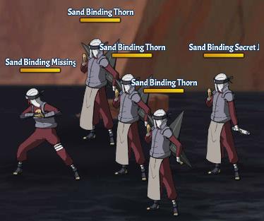 Sand Binding Land Fight 13