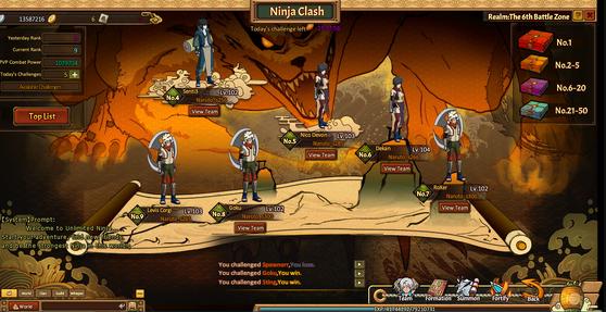 Ninja clash h