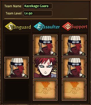 Team Kazekage Gaara H