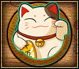 Pet Lucky Cat Small Grid
