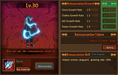 Reincarnation One Kankuro
