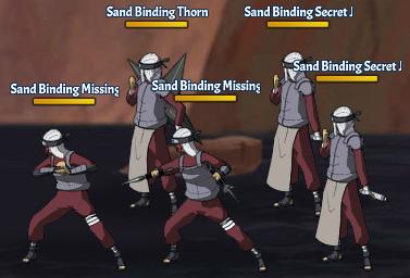 Sand Binding Land Fight 27
