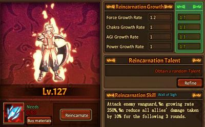 Reincarnation Ninjutsu Main Male