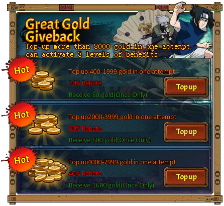 Great Gold Giveback