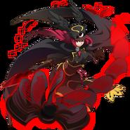 Tsubaki Yayoi (Chronophantasma, Story Mode Artwork, Pre Battle)