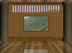 Mugen stage mountainside temple by legendarysatera-d5niktg