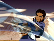 Katara fighting Mai