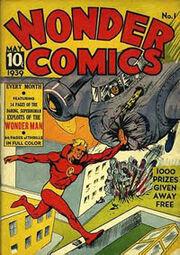 Wonder Comics Cover 1