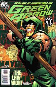 Green Arrow 60 cover