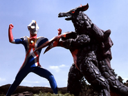 Eligal Chaos v Ultraman Cosmos