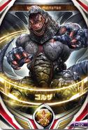 Ultraman Orb Golza Kaiju Card