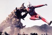 Goldras v Ultraman Tiga