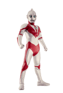 Ultraman Powered art