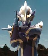 Hikari ray pose