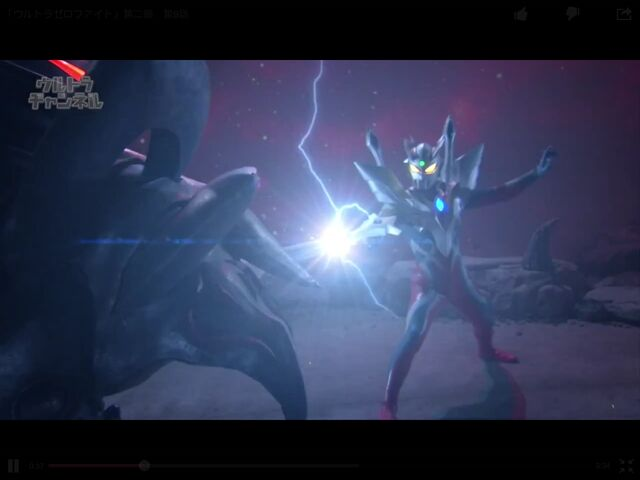 File:Ultimate Zero using the sword at Kaiser Darkness's sword fighting..jpg